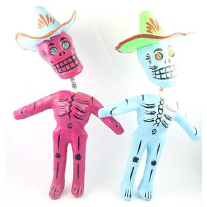 Day of the dead skeletje
