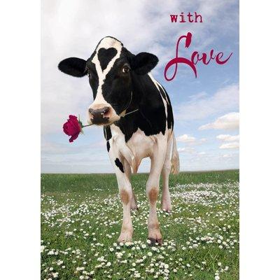 Koe kaart with love