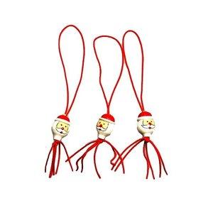Gelukspoppetje kerstman 1,5 cm