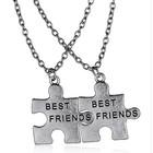 Vriendschapskettingen puzzelstukjes
