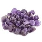 Amethyst trommelstenen - 100 gram