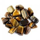 Tijgeroog - 100 gram trommelstenen