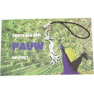 Kaartje trots als een pauw op jou | eenbeetjegeluk.nl