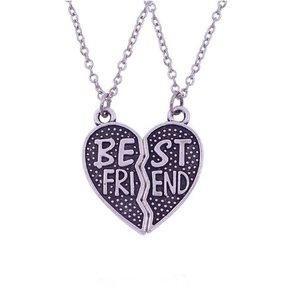 Best friends hart ketting