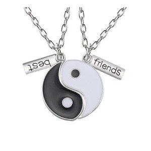 Yin Yang vriendschapskettingen | eenbeetjegeluk.nl