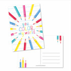 You color my world - kaart
