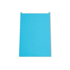 Papieren kadozakje 22 x 30 cm in blauwe kleur   eenbeetjegeluk.nl
