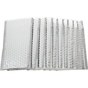 Metallic zilveren envelop | eenbeetjegeluk.nl