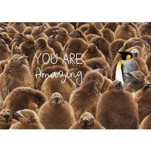 Kaart You are amazing | eenbeetjegeluk.nl