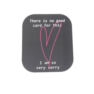 Kaart 'There is no good card for this' | eenbeetjegeluk.nl