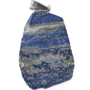 Lapis Lazuli hanger ruw | eenbeetjegeluk.nl