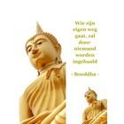 Boekenlegger Boeddha