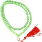 Jade mala 1 meter lang met rood kwastje