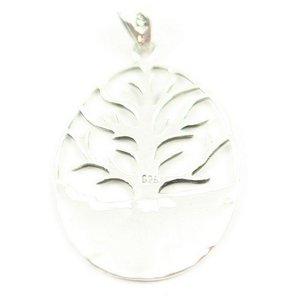 Levensboom zilveren hanger
