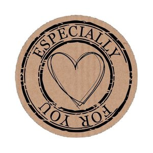 Sticker 'Especially for you'
