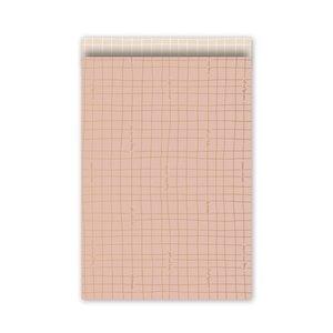 Kadozakje 12 x 19 cm in roze met tekst 'especially for you' | eenbeetjegeluk.nl