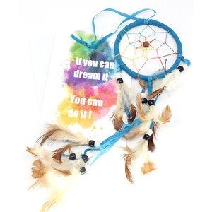 Kaart 'if you can dream it, you can do it' met dromenvanger | eenbeetjegeluk.nl