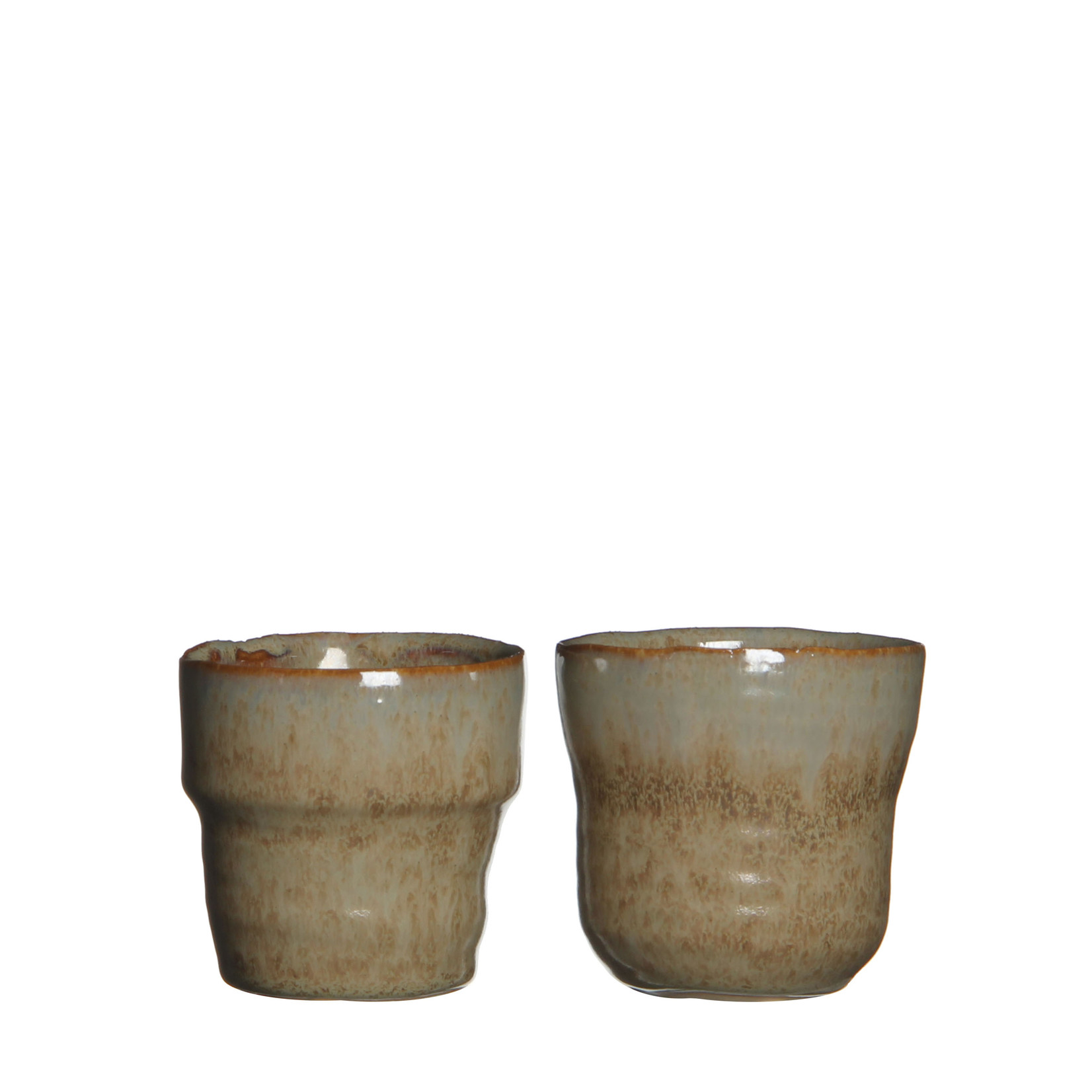 MiCa 1006526 Stef pot round taupe