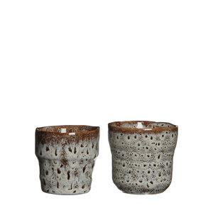 MiCa 1006528 Stef pot round white