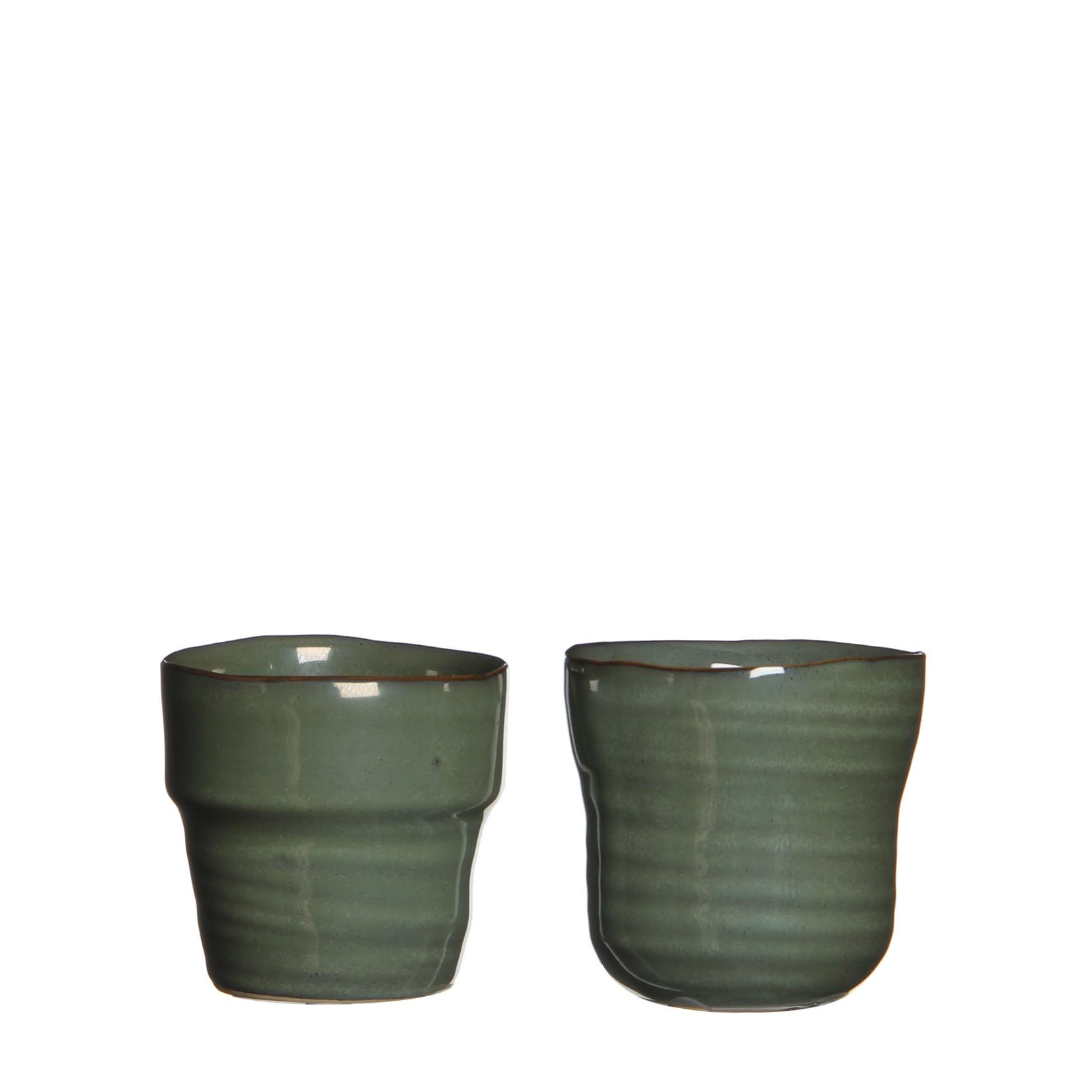 MiCa 1006529 Stef pot round gray