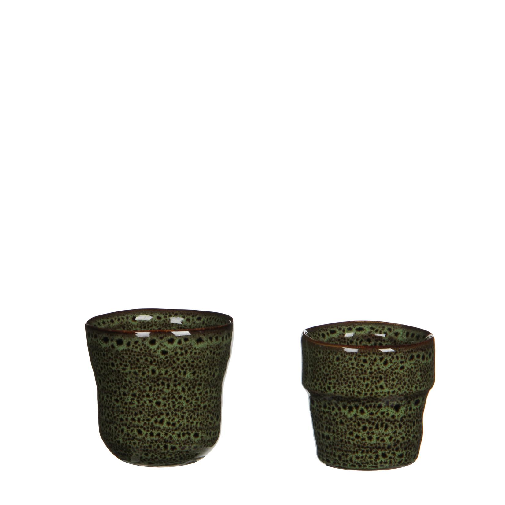 MiCa 1022487 Stef pot rond groen