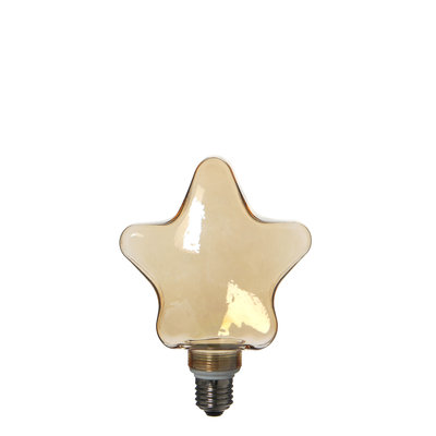 MiCa 1033269 Nice deco lamp star gold