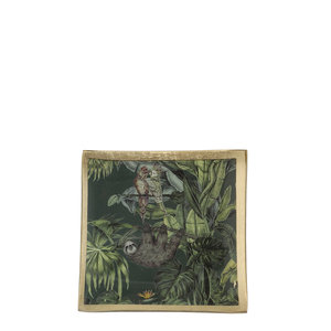 MiCa 1073498 Decoration plate sloth black
