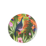 MiCa 1073574 Decoration plate toucan black