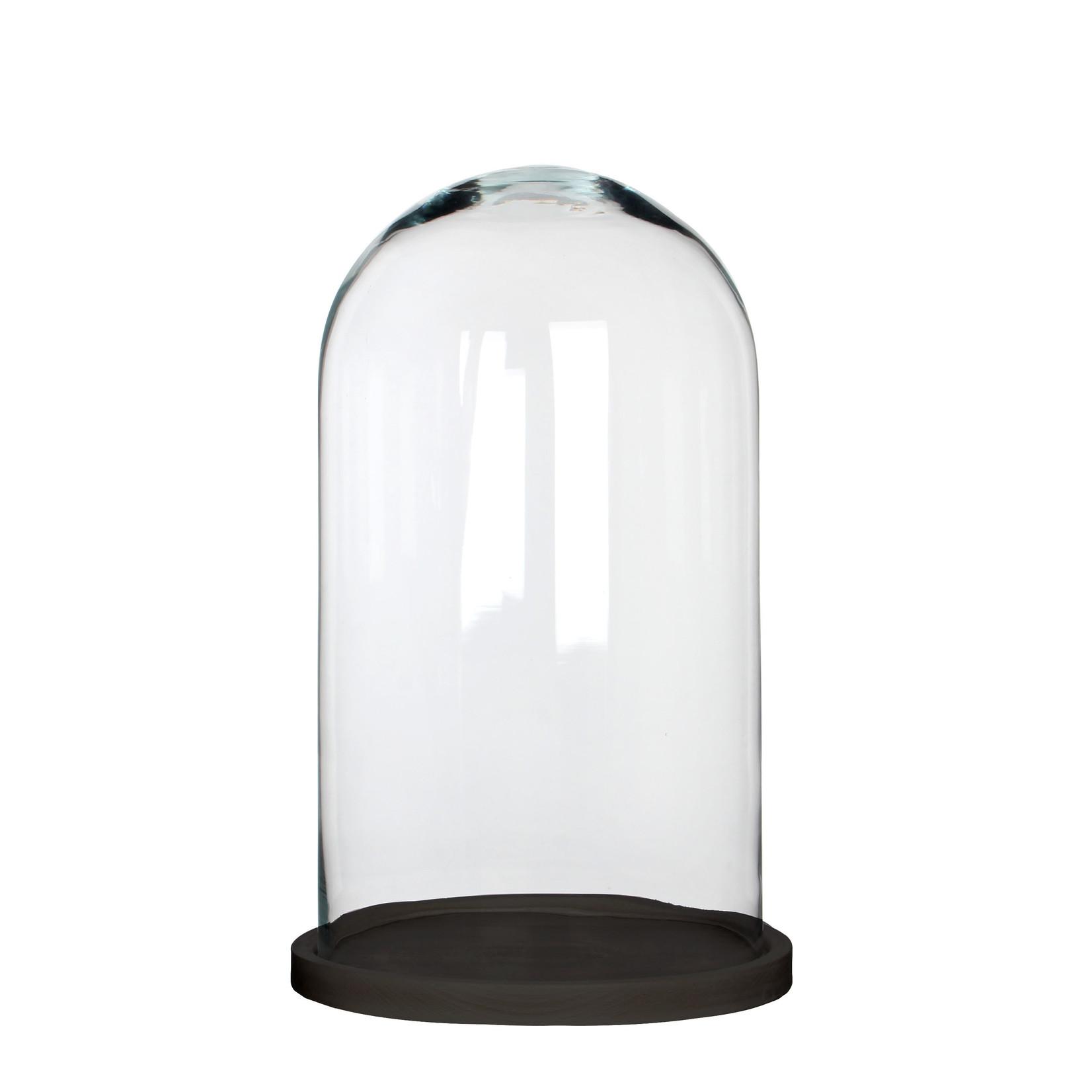 MiCa 1070567 Hella stolp glas op bord zwart