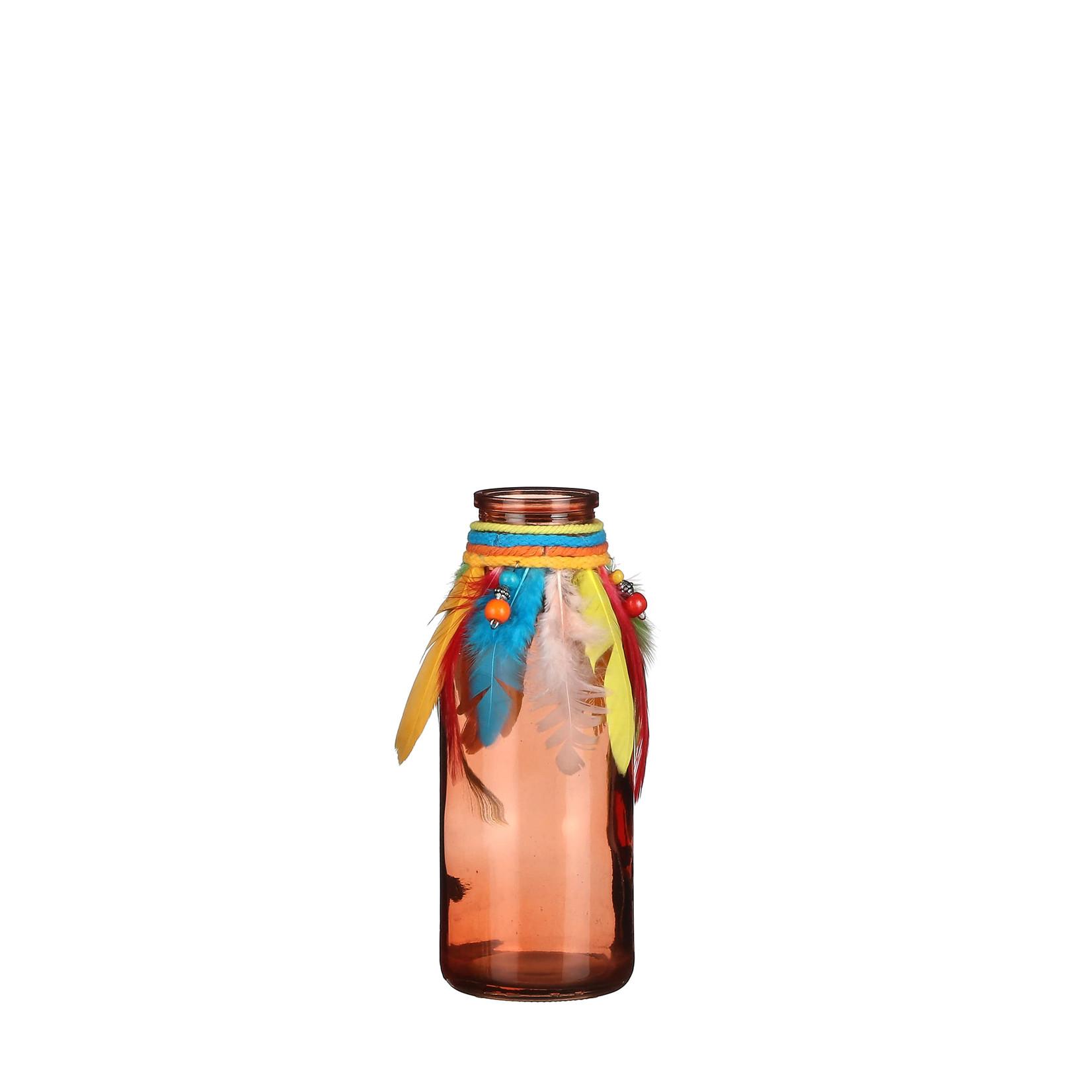 MiCa 1056787 Vase feather orange