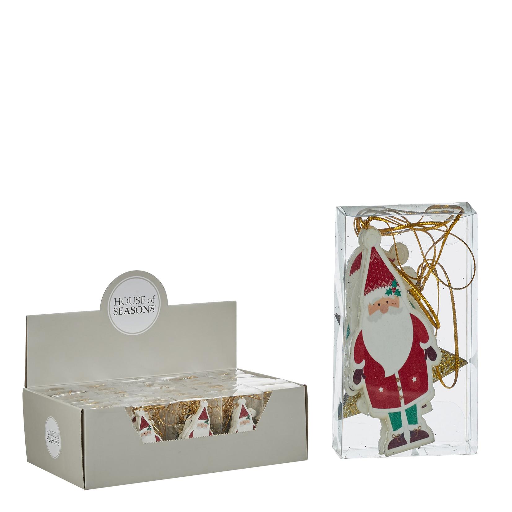 MiCa 1048754 Ornament kerstman ster