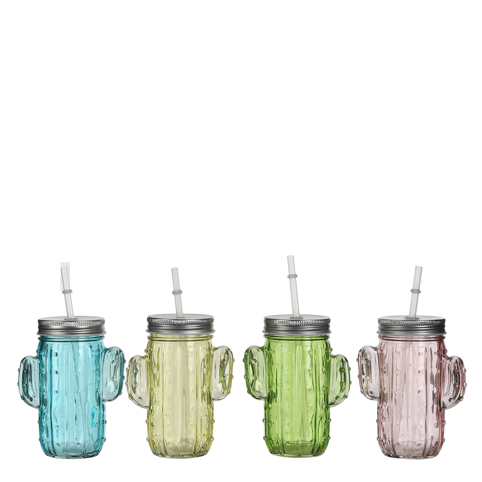 MiCa 1053806 Jug pink blue yellow green 4 assorted