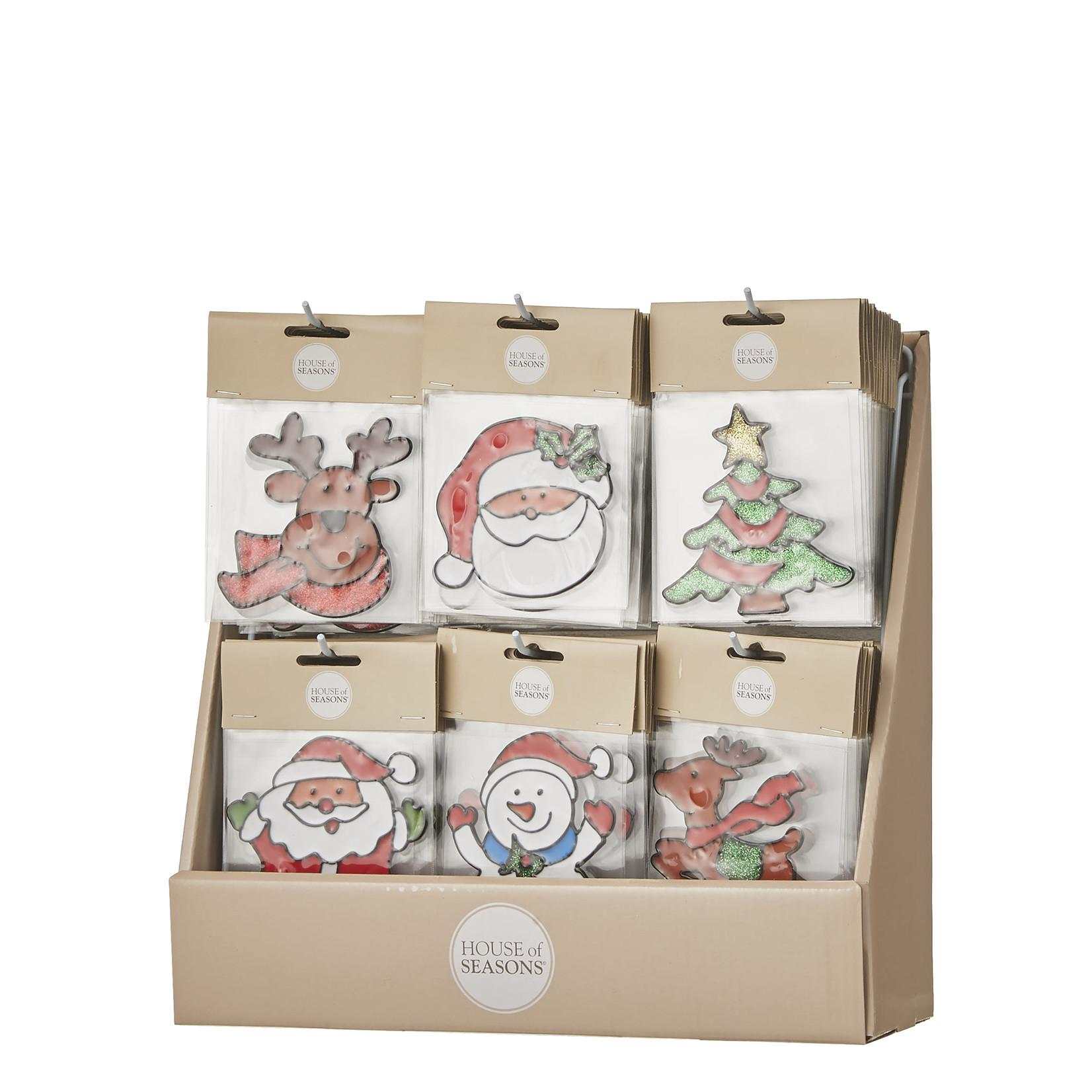MiCa 1043956 Raamdecoratie Christmas