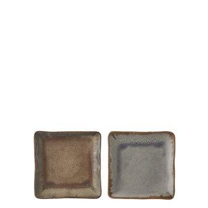 MiCa 1047453 Eva plate taupe blue