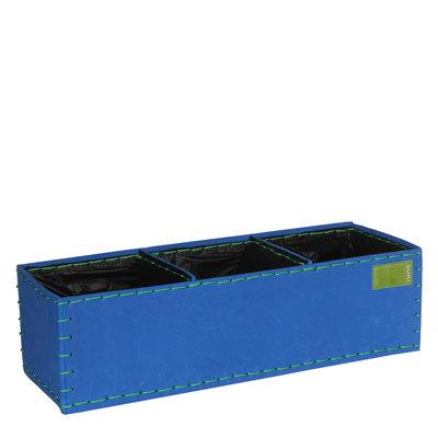 MiCa 153501 Pot rechthoek Suki Blauw