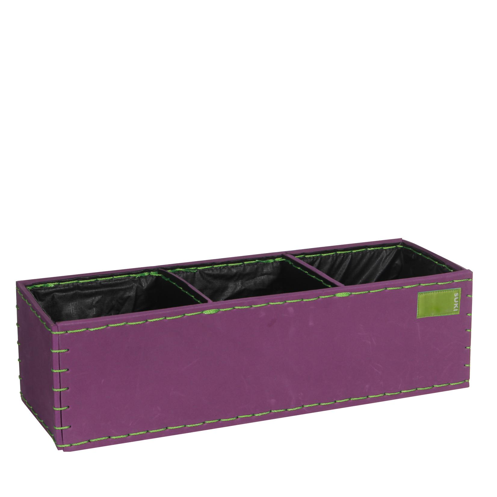 MiCa 153533 Pot rechthoek Suki Paars
