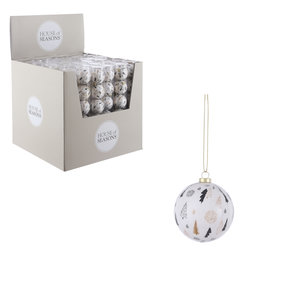 House of Seasons Bal unbreakable tree white 6 pieces