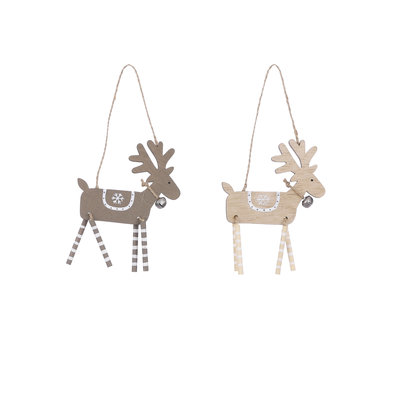 House of Seasons Ornament hert bruin