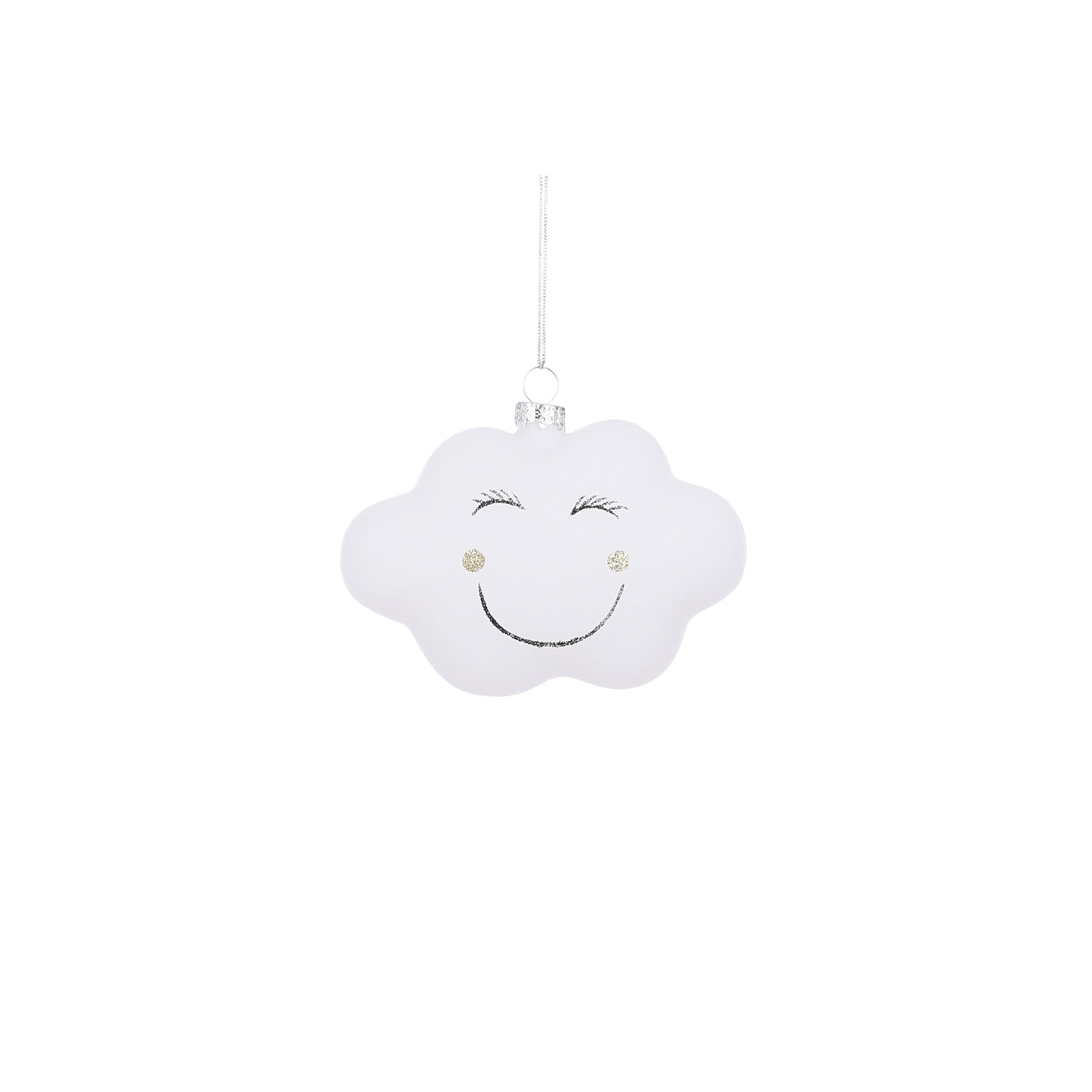House of Seasons Ornament cloud white
