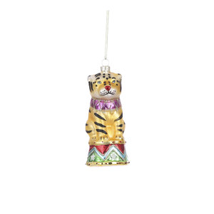 House of Seasons Ornament tiger gold