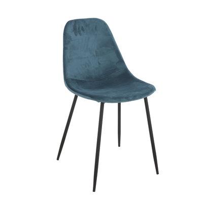 Mica Decorations Corby stoel blauw