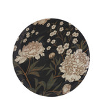 Mica Decorations Becky decoration plate black