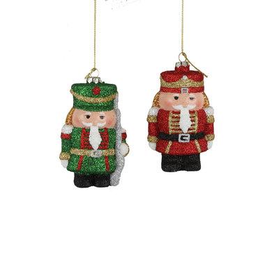 House of Seasons Ornament notenkraker rood groen
