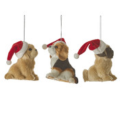 House of Seasons Ornament hond bruin