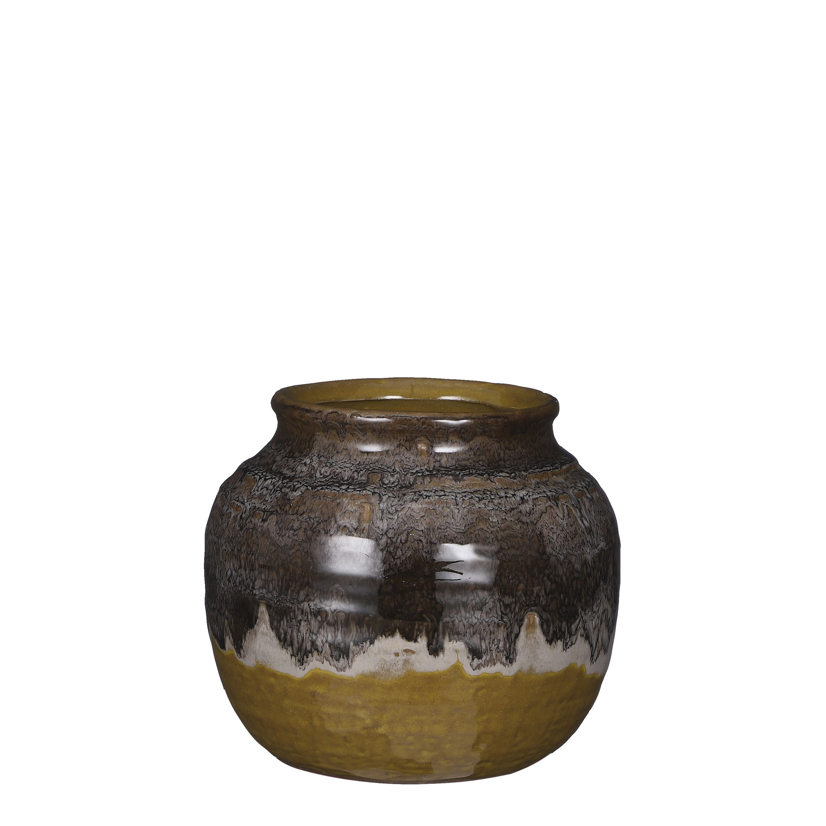 Mica Decorations Ethan pot round green