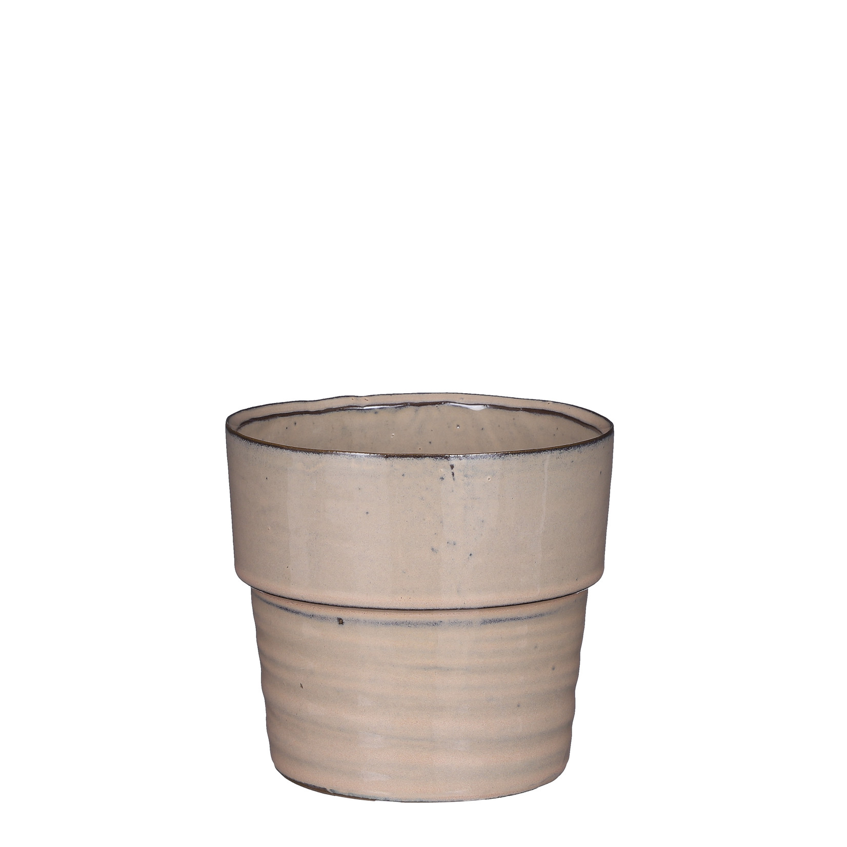 Mica Decorations Stef pot rond beige