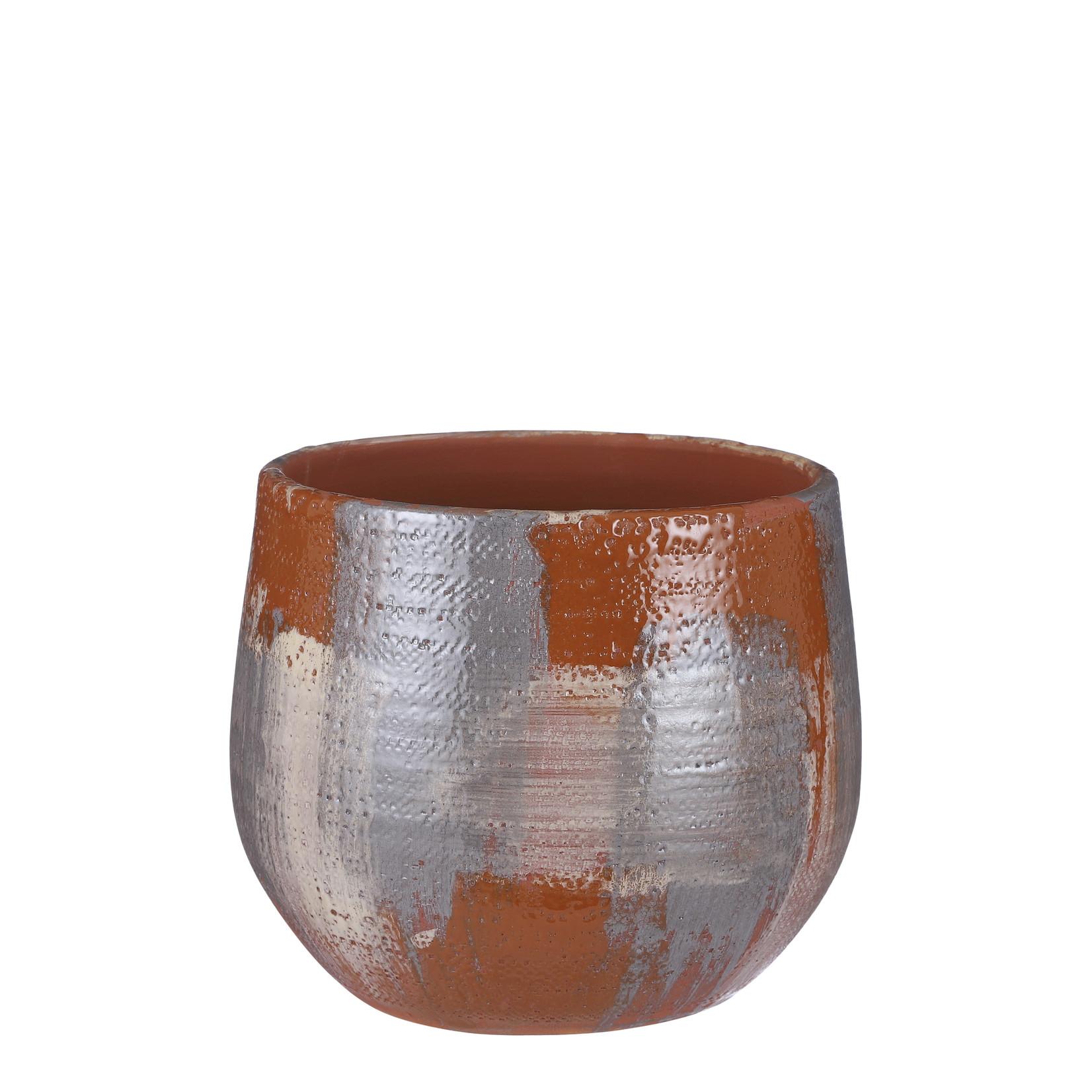 Mica Decorations Drift pot rond terra
