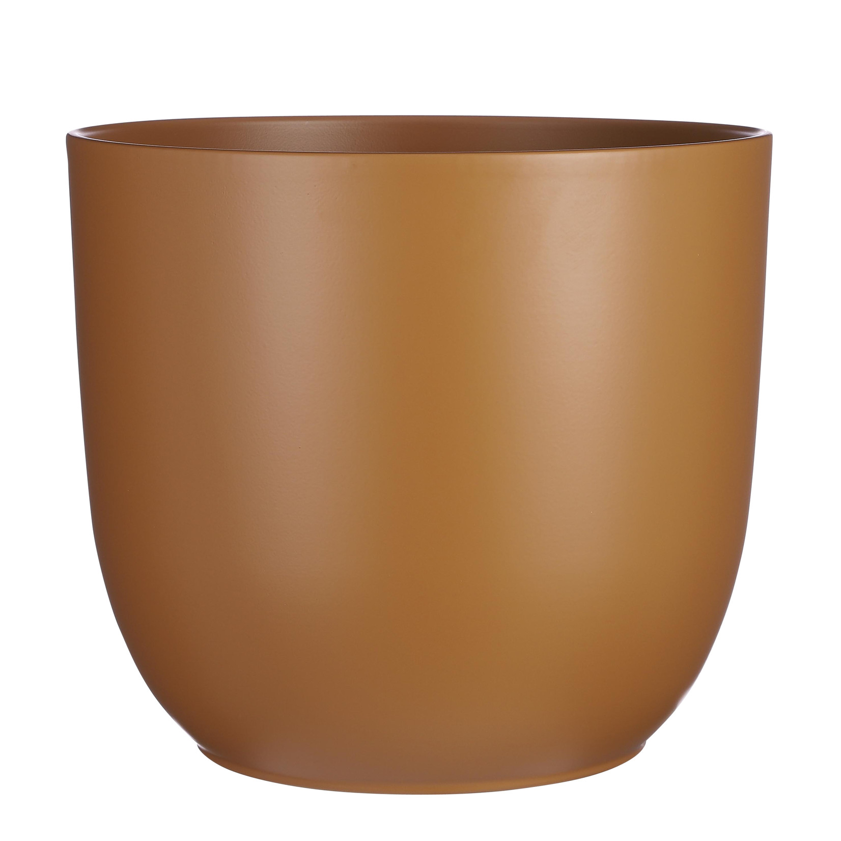 Mica Decorations Tusca pot round brown