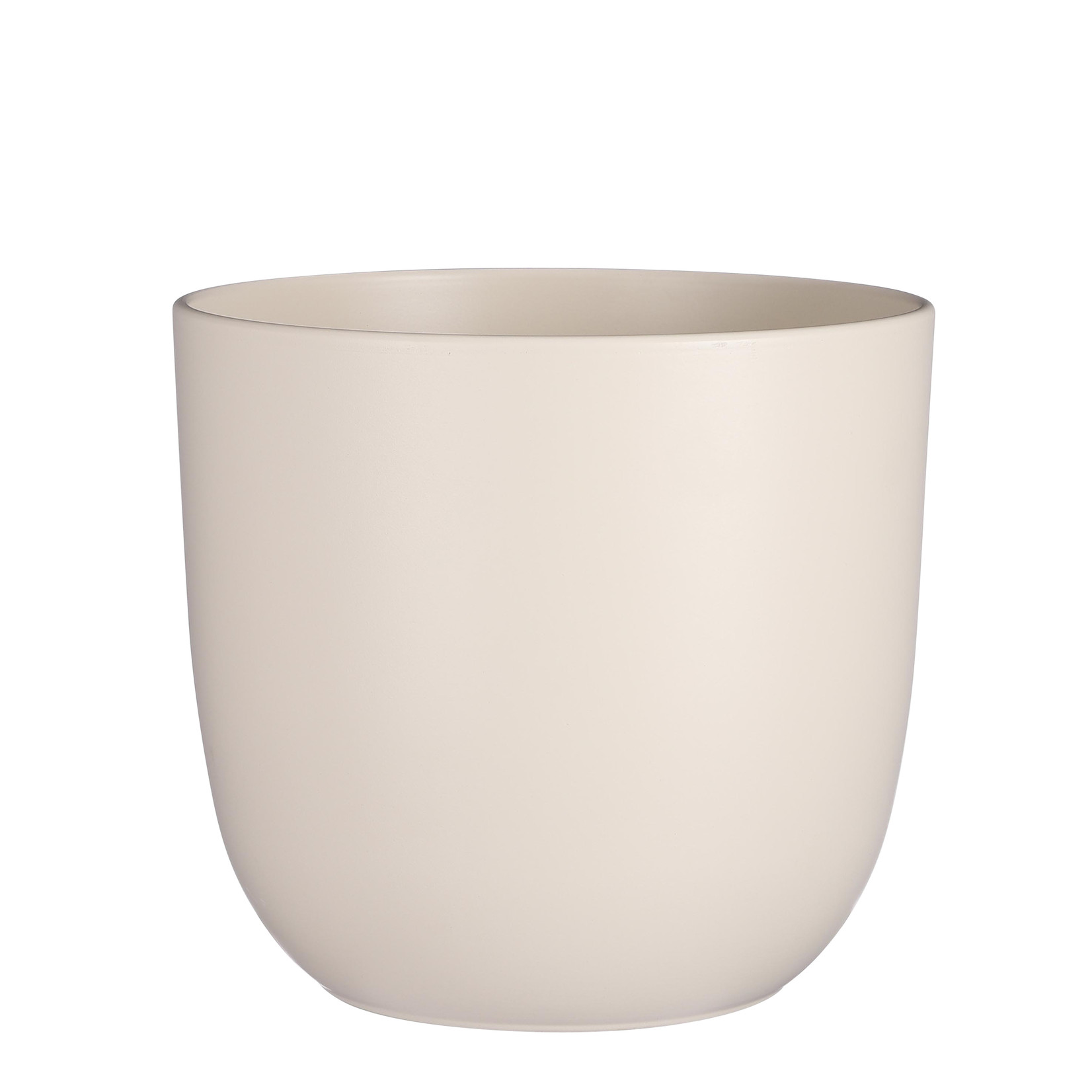 Mica Decorations Tusca pot rond off white