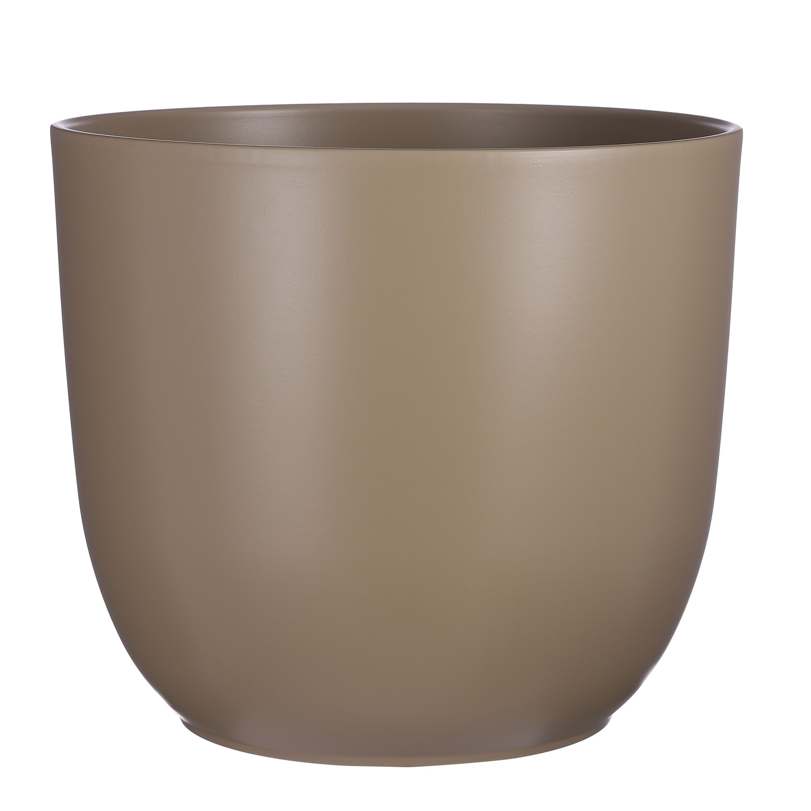 Mica Decorations Tusca pot round taupe